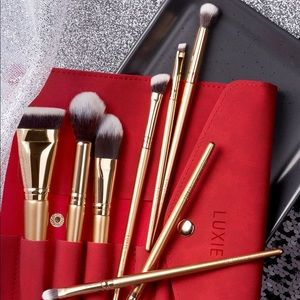 🌸Luxie Glitter and Gold Brush Set🌸